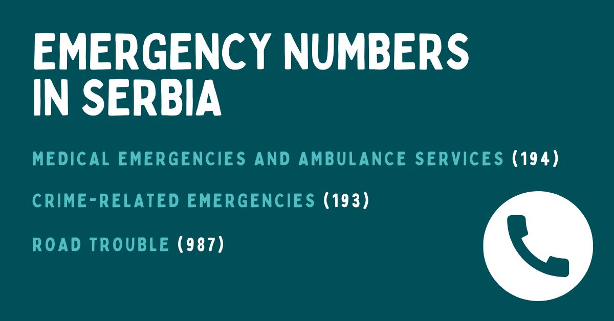 Serbian Emergency Phrases