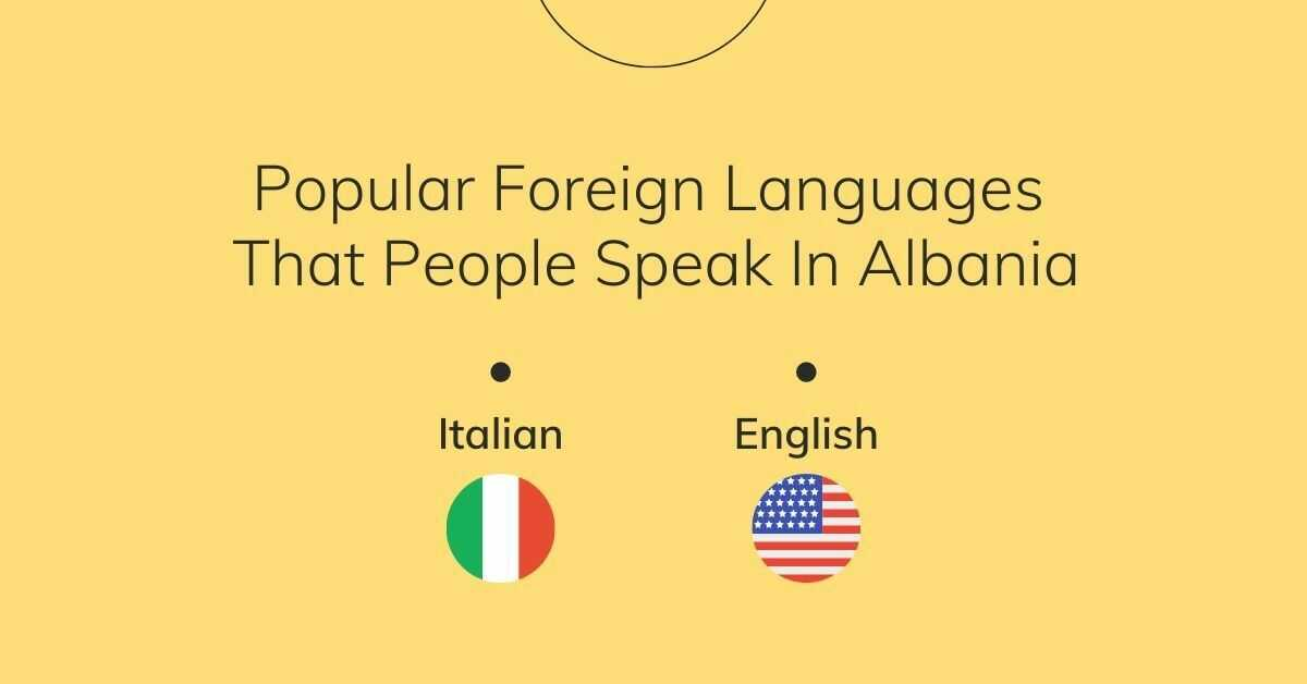 Popular Foreign Languages That People Speak In Albania