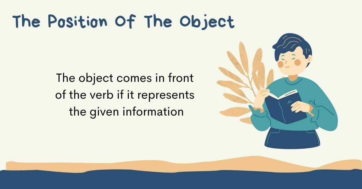 Serbian Sentence Structure: Object