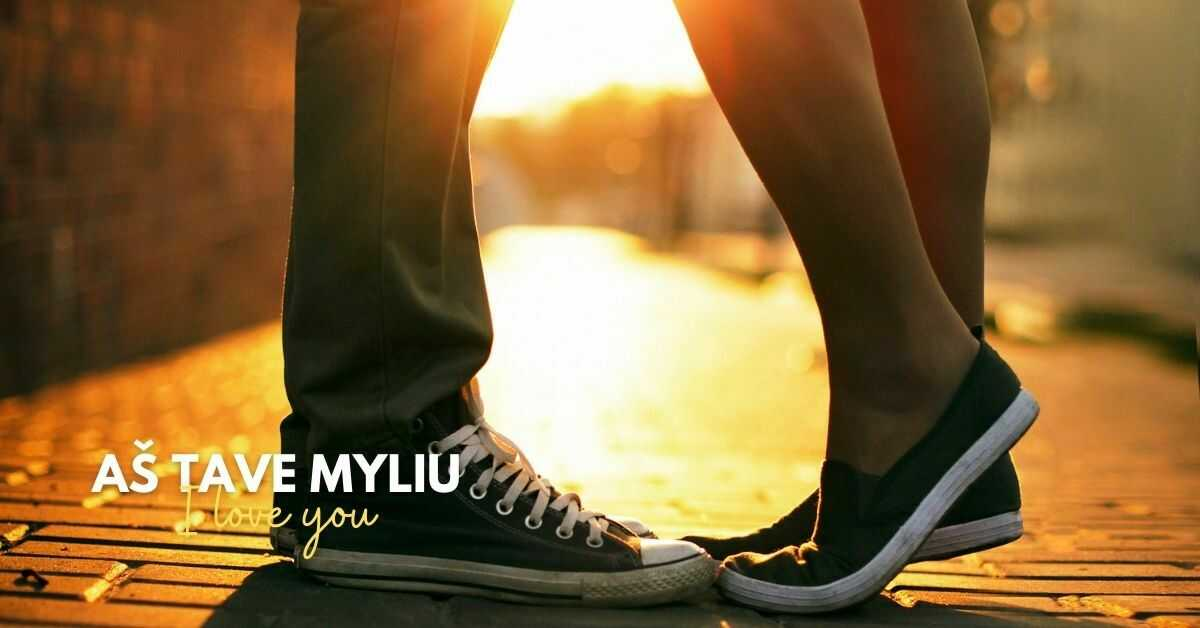 Love Words And Phrases In Lithuanian | I love you