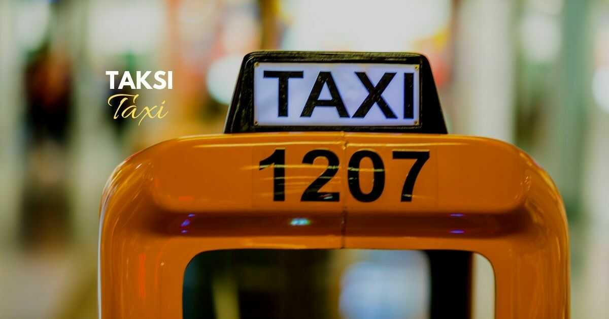 Lithuanian Vocabulary About Transportation | Taxi