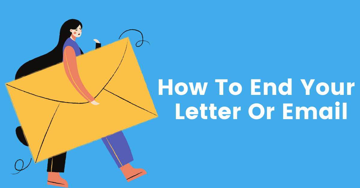 Write Letters Or Emails In Serbian: Ending