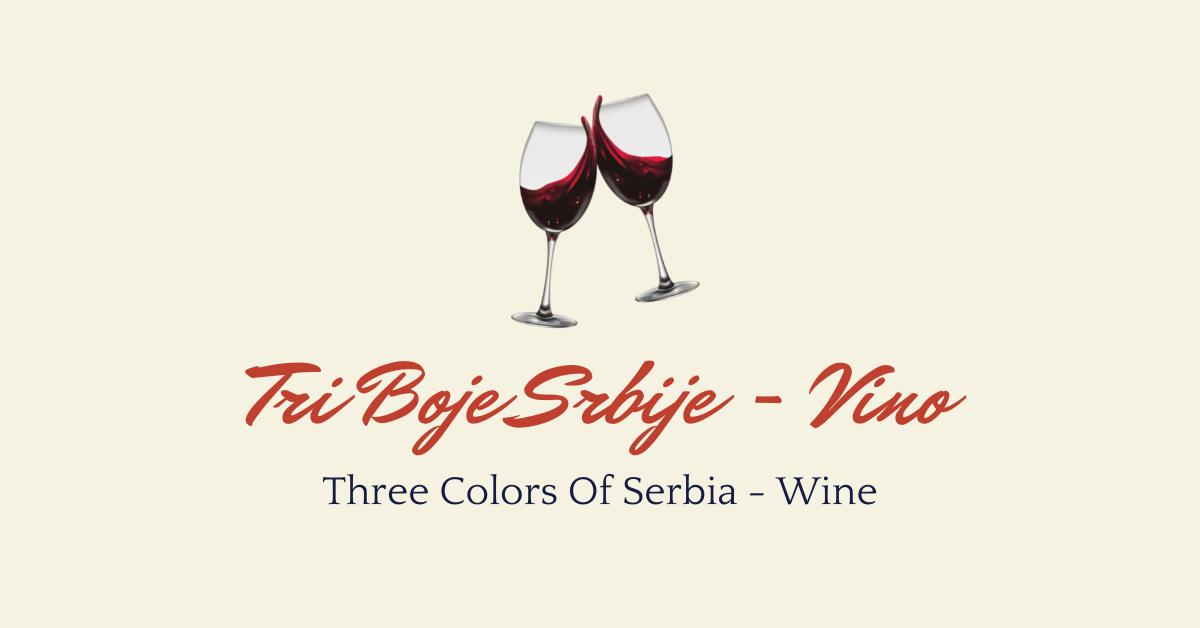 Drinks In Serbian - Vino