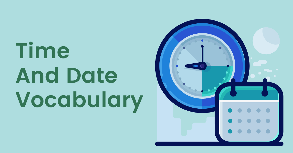 Time And Date Vocabulary In Albanian
