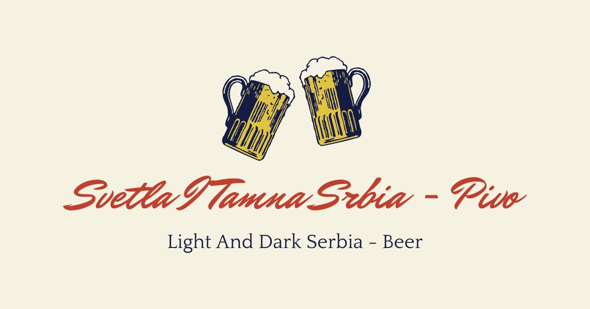 Drinks In Serbian - Pivo
