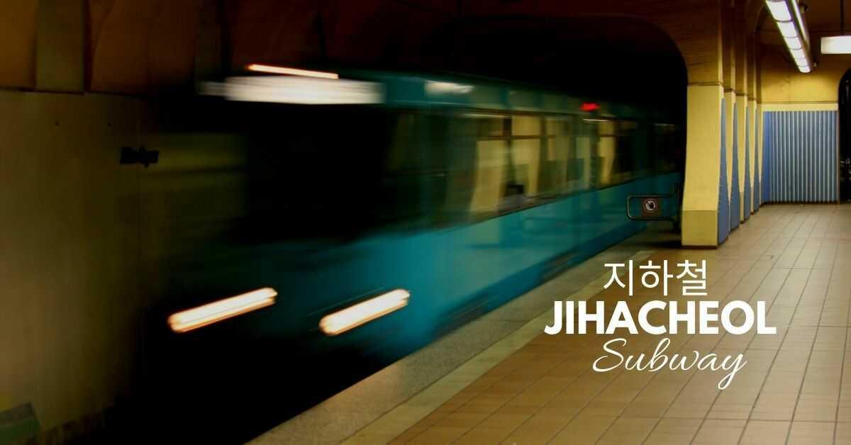 Korean Vocabulary About Transportation   Subway 지하철