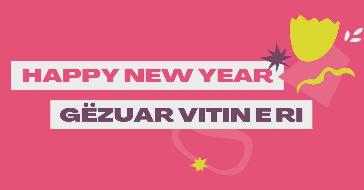 Happy New Year In Albanian