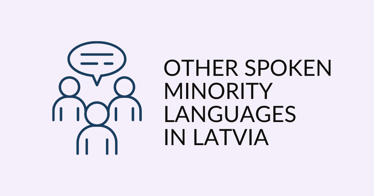 Spoken Languages In Latvia