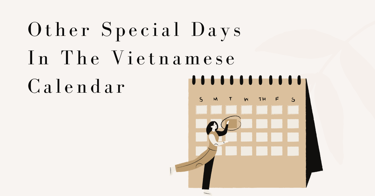 Other Special Days In The Vietnamese Calendar