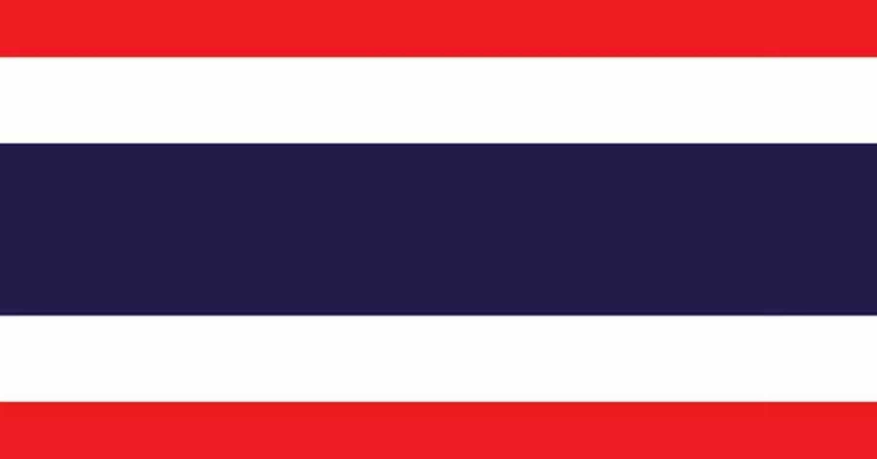 Present Flag of Thailand