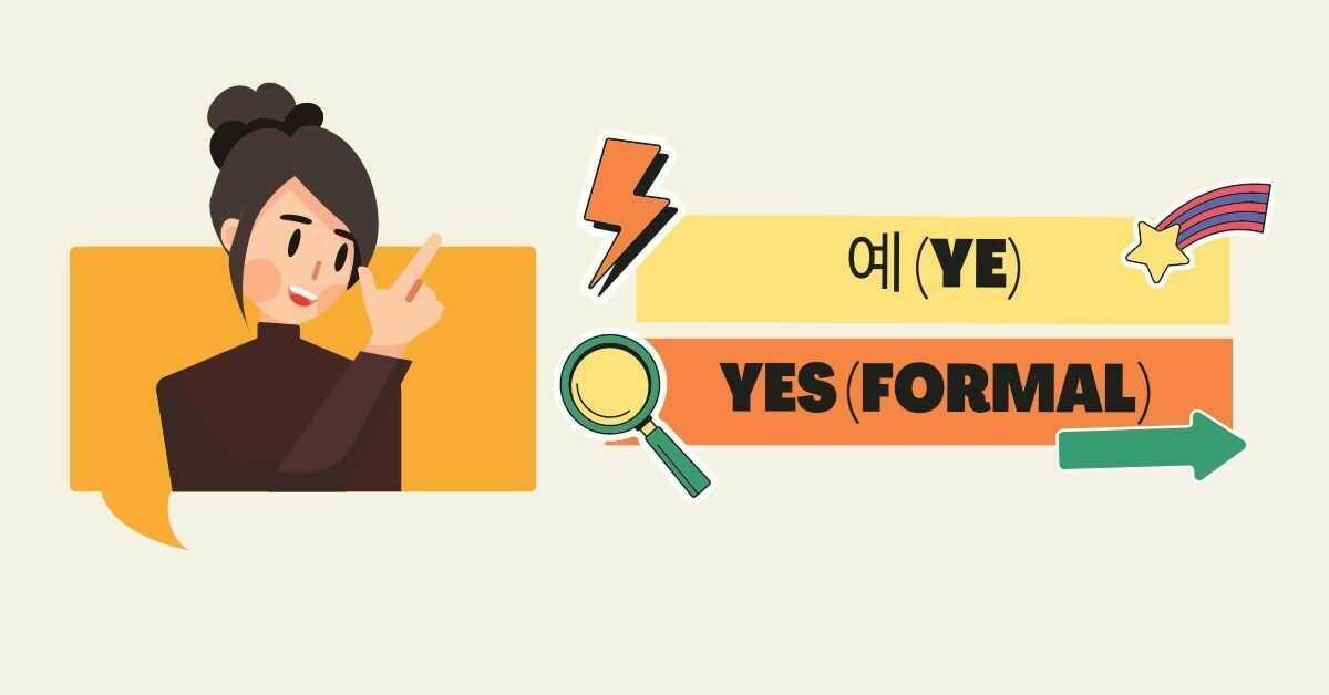 Yes/No/Ok In Korean