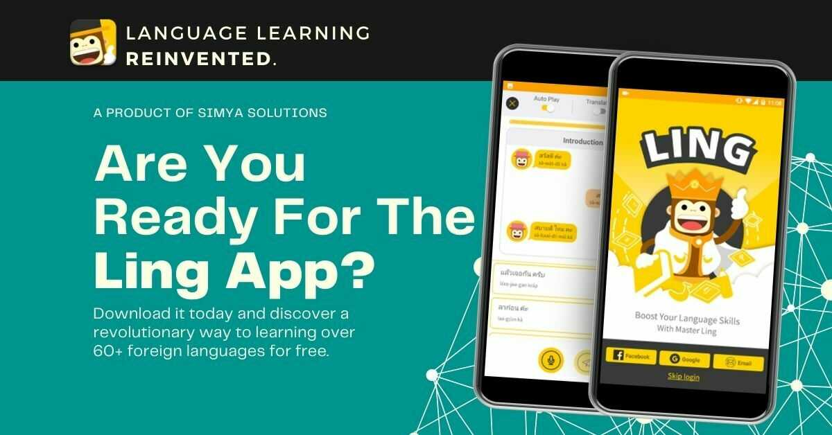 learn thai using the ling app
