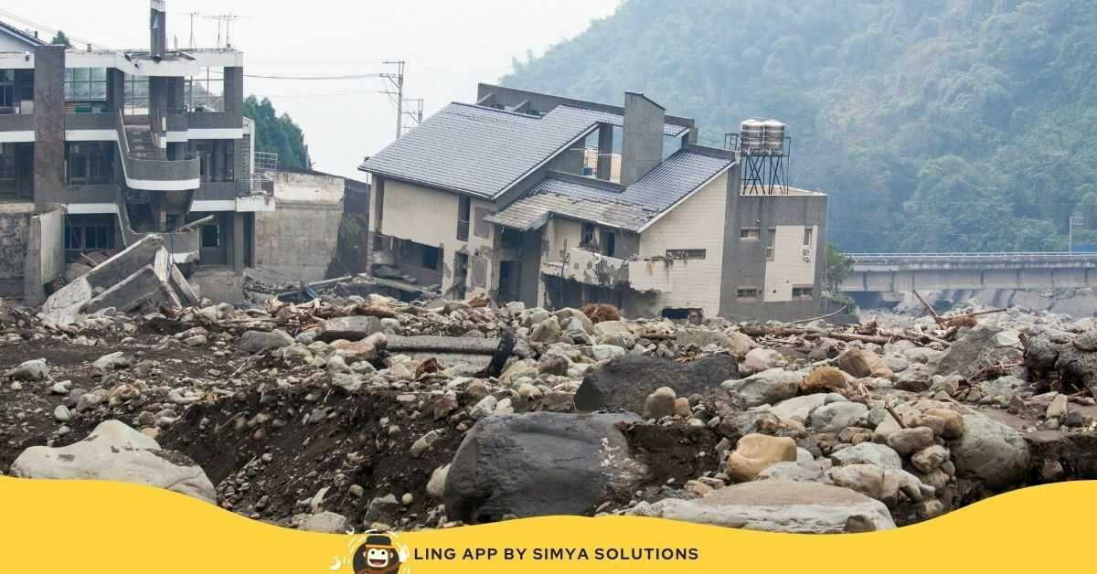 Easy phrases and Words For Natural Disasters In Thai Language