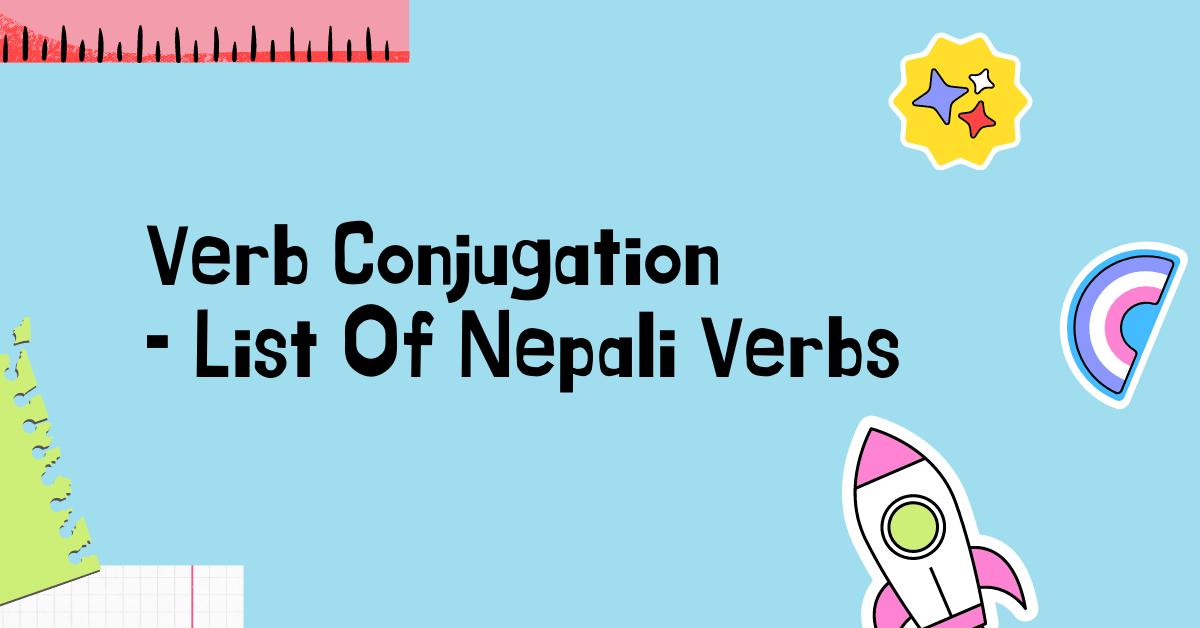 Nepali Verbs