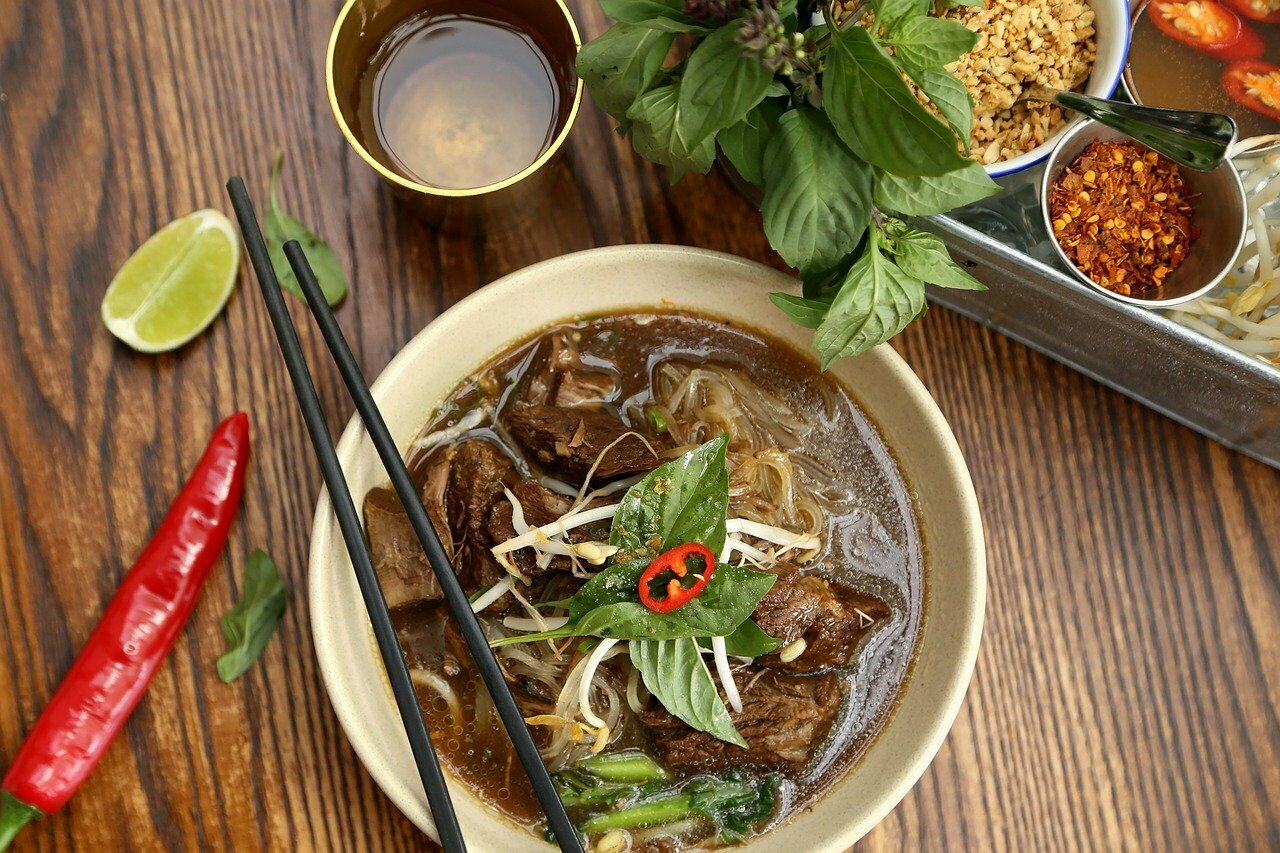What are Boat Noodles in Thai?